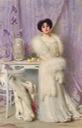 1903 Diane de la Bouchère by Vittorio Matteo Corcos (auctioned by Dorotheum) From the Dorotheum Web site