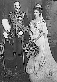 1904 Princess Alice and Alexander of Teck mod