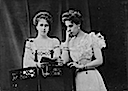 1904 Princesses Beatrice & Victoria Melita of Saxe-Coburg and Gotha