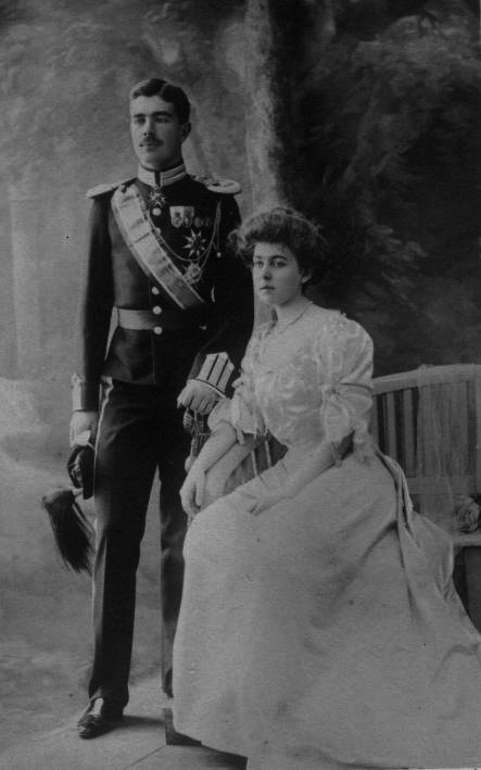 1905-1907 Margaret of Connaught, Crown Princess of Sweden detint