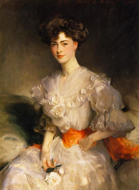 1905 Maud Glen Coats, Duchess of Wellington by John Singer Sargent (private collection) From Wikipaintings