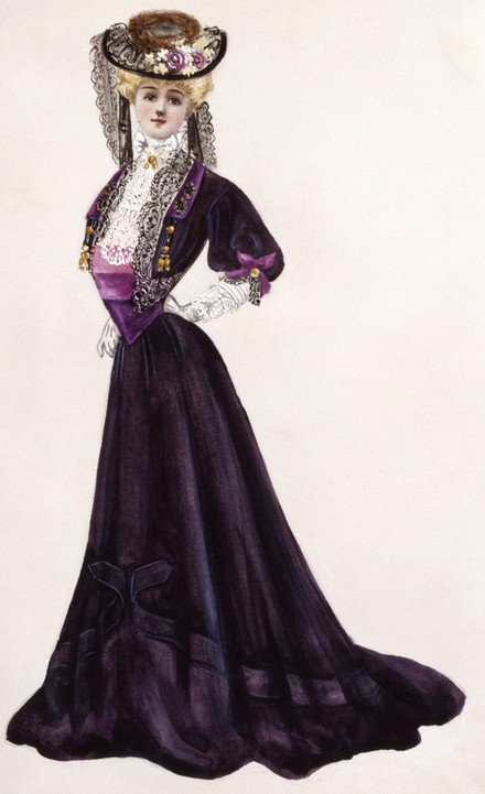 1905 visiting gown and bolero jacket designed by Lucile | Grand ...