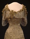 1906-1907 Gala dress of Queen Maud of Norway bodice and upper skirt
