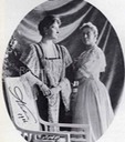 1906 Alexandra and her sister Victoria