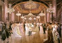 1906 Alfonso XIII and Victoria Eugenia Wedding Reception by Juan Comba (location unknown to gogm)