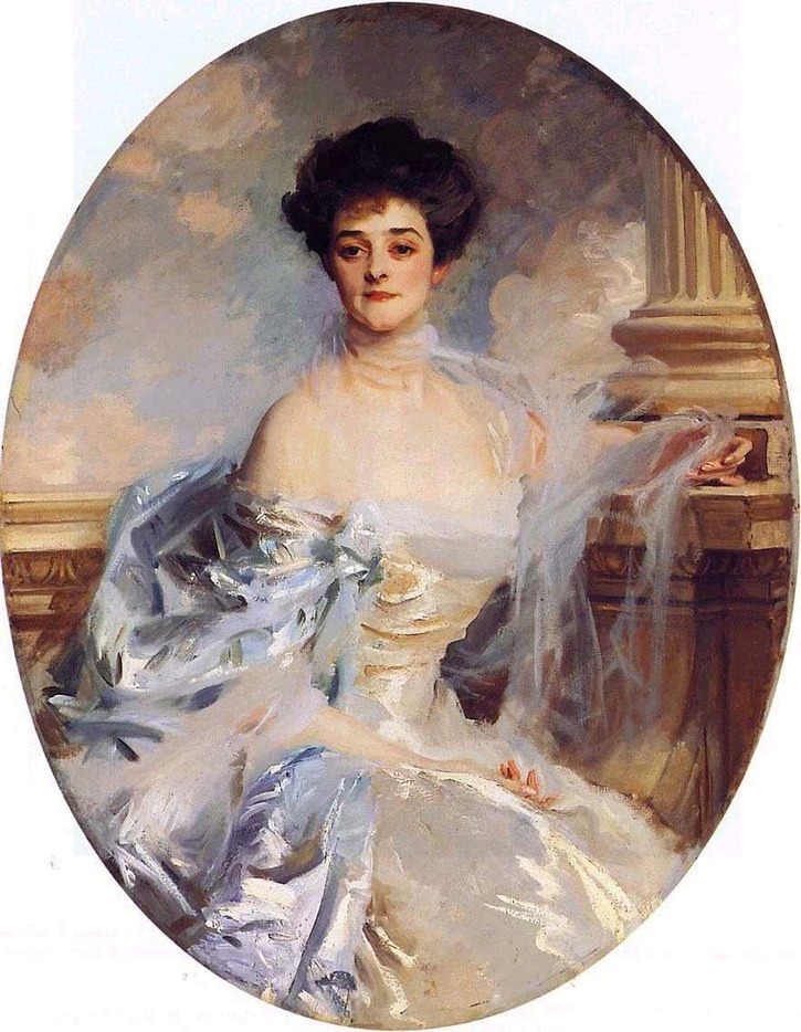 1906 Adela, Countess of Essex, née Grant by John Singer Sargent (private collection) jssgallery.org