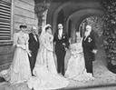 1906 Marriage of Count Pietro Pietro LucchesiPalli and Princess Beatrice of Bourbon Parma, half-sister of Empress Zita