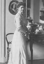 1906 Princess Antoinette Anna Alexandra zu Schaumburg-Lippe by L. Stüting & Sohn Wm detint slightly inc. contast