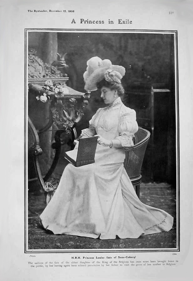 1906 Princess Louise Belgium, daughter of Leopold II 2 APFxRani 4Feb09 mod