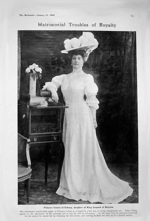 1906 Princess Louise of Belgium, daughter of Leopold II 1 APFxRani 4Feb09 mod