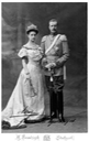 1906 Robert and Maria Immakulata of Wurttemberg, née Archduchess of Austria, Princess of Tuscany by Hermann Brandseph From pinterest.com-agathasherlock-tiarara- detint X 1.5