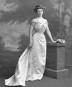 1907 Constance Edwina, Duchess of Westminster standing by Lafayette Photographic Studio
