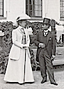 1907 Marie with King Chulalongkorn of Siam