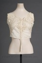 1908-1910 Cotton camisole-Style brassiere (Fashion Institute of Design and Merchandising Museums and Galleries - Los Angeles, California USA)