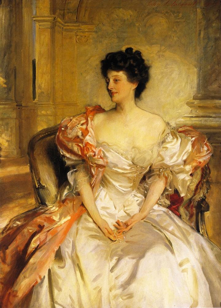 1908 Cora, Countess of Strafford (Cora Smith) by John Singer Sargent (private collection)
