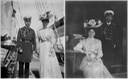 1908 (June) Emperor Nicholas II and Empress Alexandra Feodorovna on ship From Tatiana Z detint