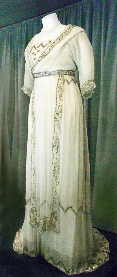 1908 Lucile wedding dress for Mabel Chapell | Grand Ladies | gogm