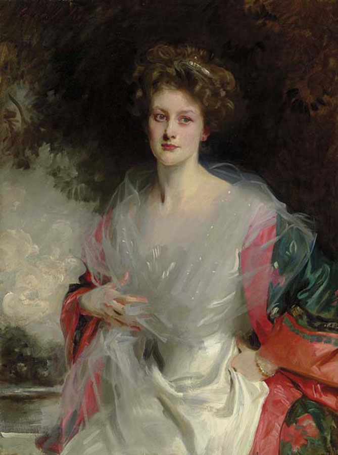 1908 Mildred Carter by John Singer Sargent (auctioned by Chrisie's) From jssgallery.org