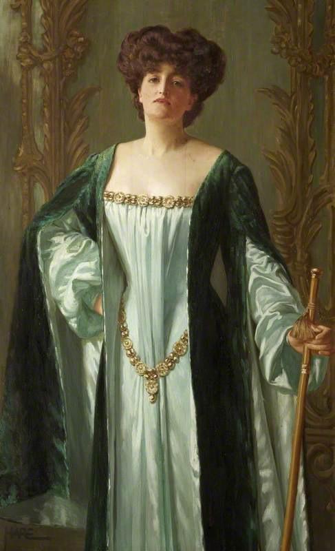 1909-1910 Alda Weston, Lady Hoare by St George Hare (Stourhead - Stourton, Wiltshire UK) BBC