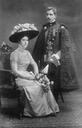 1909 Archduchess Renata and her husband Prince Jerome Radziwill