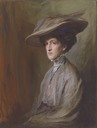 1909 Margot Asquith by Philip Alexius de László (location unknown to gogm)