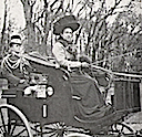 1910 Victoria of Baden driving carriage