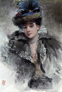 1911 (before) Lady Colin Campbell by Percy Anderson (location unknown to gogm)