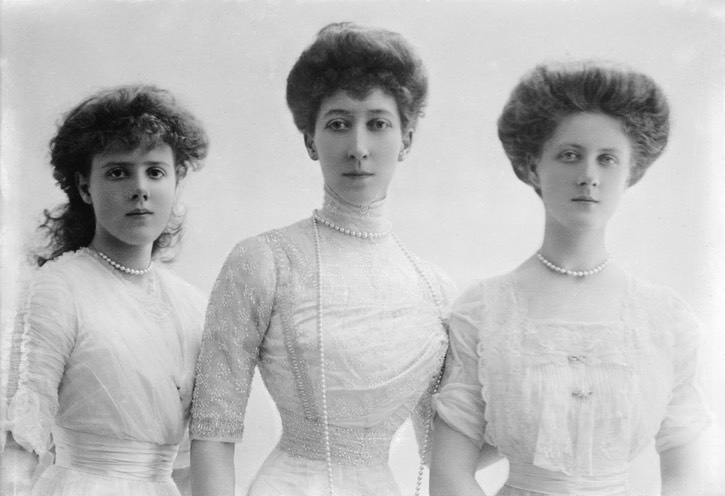 1911 Duchess of Fife, Princesses Alexandra and Maude From the lost gallery's photostream on flickr