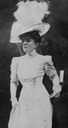 1911 Anna Duchess of Talleyrand, née Gould press photo