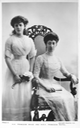 1911 HH Princess Maud and HRH Princess Royal Louise From eBay detint reduced contrast