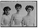 1911 Duchess of Fife, Princesses Alexandria and Maude unaltered