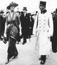 1912 Countess Drascovich with Prince Ferdinand Auersperg in Vienna