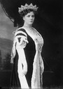 1912 Duchess of Manchester in court dress