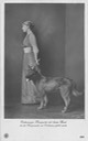 1913 Archduchess Margarita and military dog eBay detint