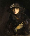 1915 Lady Gwendoline Churchill, née Bertie by Sir John Lavery (location unknown)
