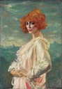1919 The Marchesa Casati by Augustus Edwin John (Art Gallery of Ontario - Toronto, Ontario, Canada) From Google Art Project via Wm