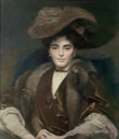 20th c. Margaret, Countess of Bradford by E. F. Wells (Weston Park - Weston-under-Lizard, Staffordshire UK)