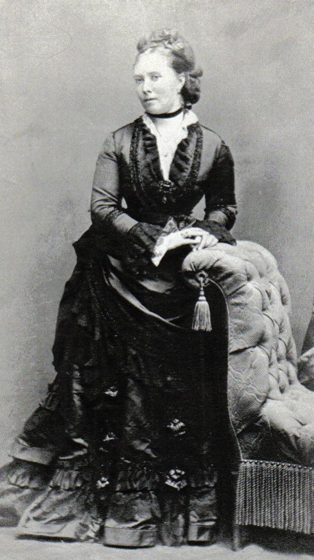Crown Princess Victoria in the middle 1870s