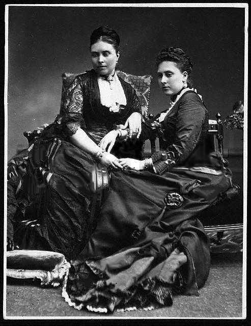 ca. 1880 Victoria and Beatrice