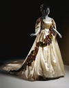 A gorgeous fancy dress gown worn by the Countess di Castiglione between 1861 and 1867