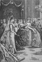 A scene from Princess Beatrice's wedding