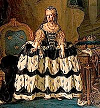after 1771 Dowager Queen Lovisa Ulrika by Lorens Pasch (Nationalmuseum, Stockholm)