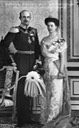 Alexandra, née von Hanover, and Franz IV of Mecklenburg-Schwerin From the lost gallery's photostream on flickr