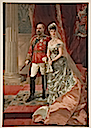 Alexandra and Edward VII card