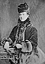 Alexandra as Princess of Wales wearing a pardessus