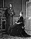 Alfonso Carlos Borbon and Maria das Nieves de Portugal