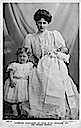 1907 (estimated from age of baby) Alice of Albany with her daughter Mary and baby Rupert