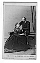 1866 Alice and Ludwig of Hesse carte de visite by Hills & Saunders