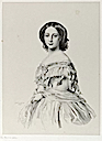 1857 Alice print by Richard James Lane, after Winterhalter (National Portrait Gallery, London)