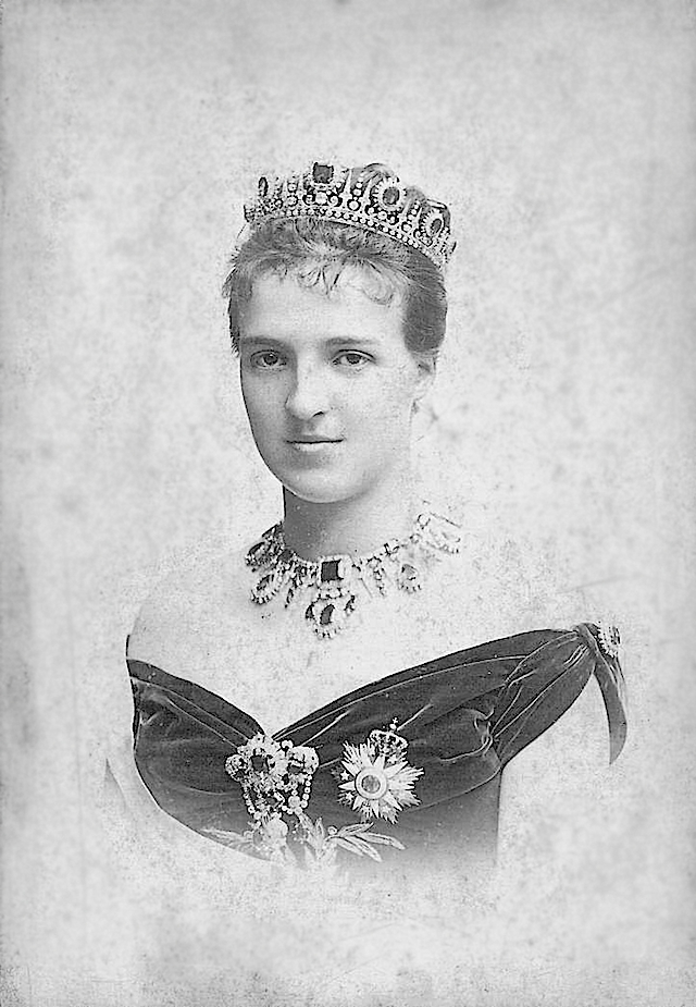 Amélie d'Orléans, Queen of Portugal Fillon card detint